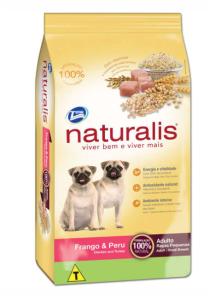 Naturalis Raças Pequenas Frango e Peu 15kg