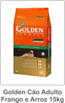 Golden Cão Adulto Frango e Arroz 15kg
