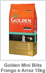 Golden Mini Biits Frango e Arroz 15kg